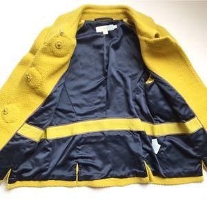 Boden Jackets & Coats - NWOT Boden Yellow Wool Fifties Jacket WE401